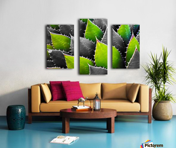 Thorny Canvas print
