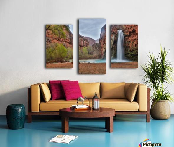 Miles Away From Ordinary Canvas print