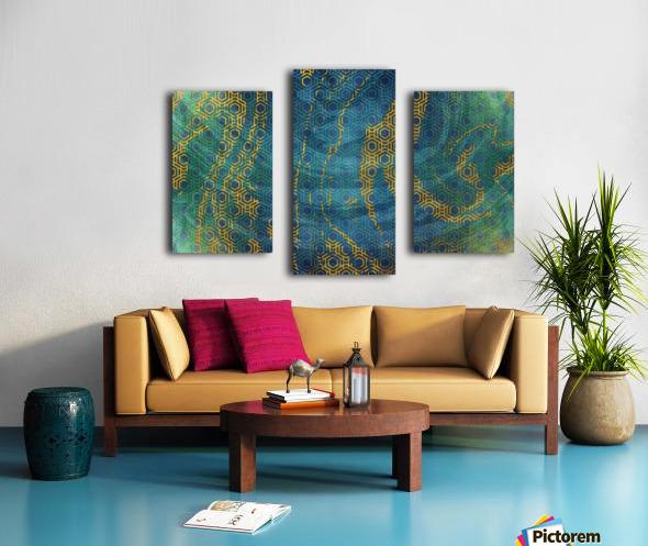 Geometric XXXXXIII Canvas print