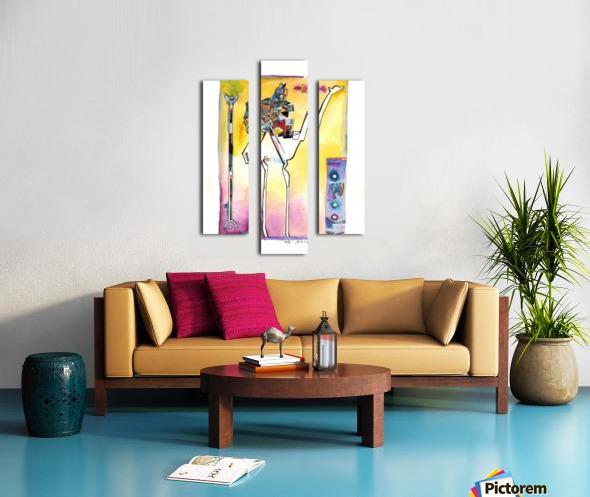 Kollage KAMEL Canvas print