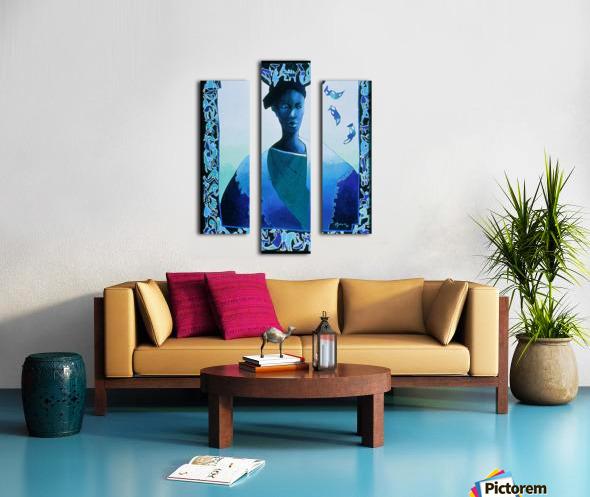 Valse des illusions Canvas print
