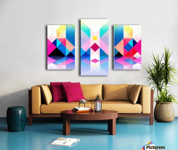 Geometric XXXXXV Canvas print
