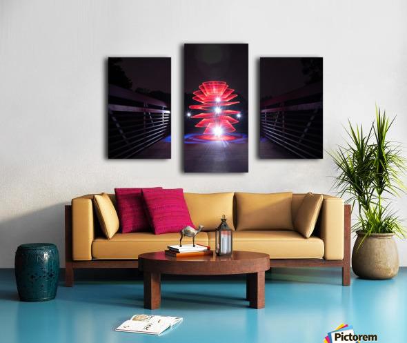Rising Spiral Canvas print