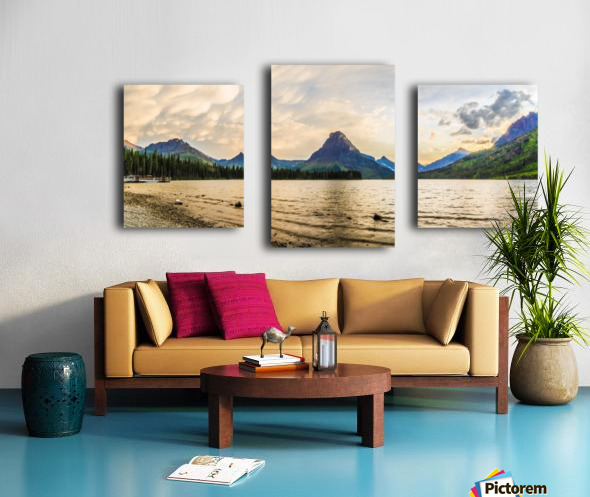 Two Medicine Canvas print