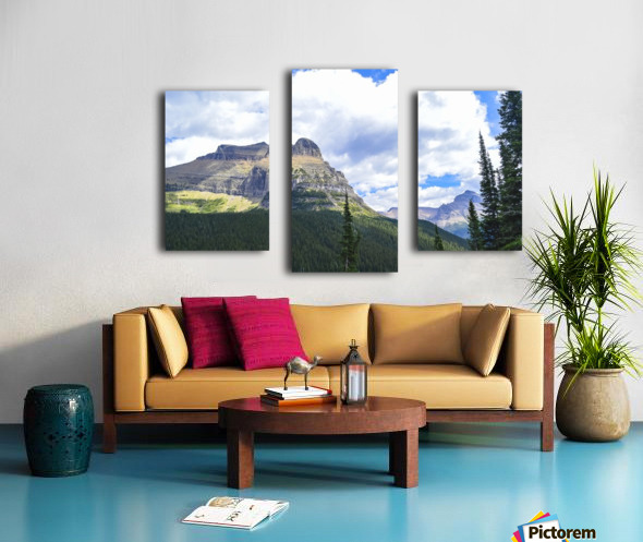 Going to the Sun Mountain Canvas print