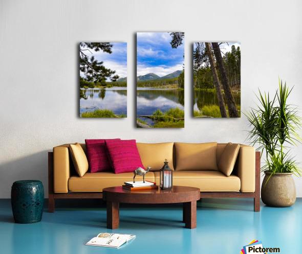 Sprague Lake Canvas print
