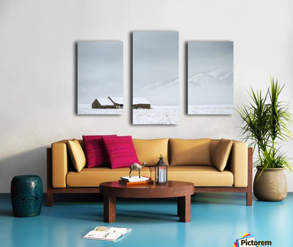 Isolation Canvas print