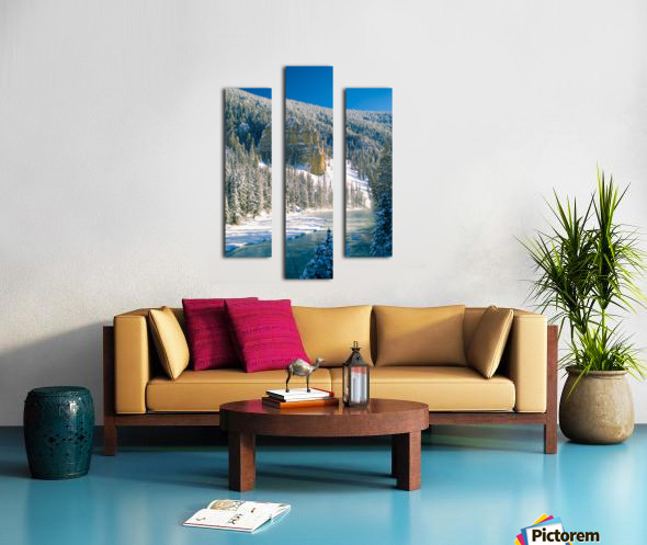 23 Below Canvas print