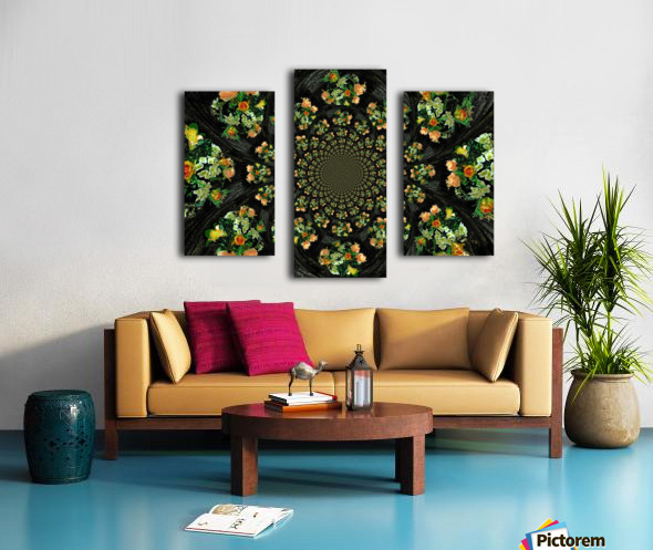 Floral Creation Canvas print