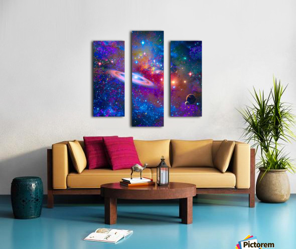 DEEP SPACE DRIFTING Canvas print