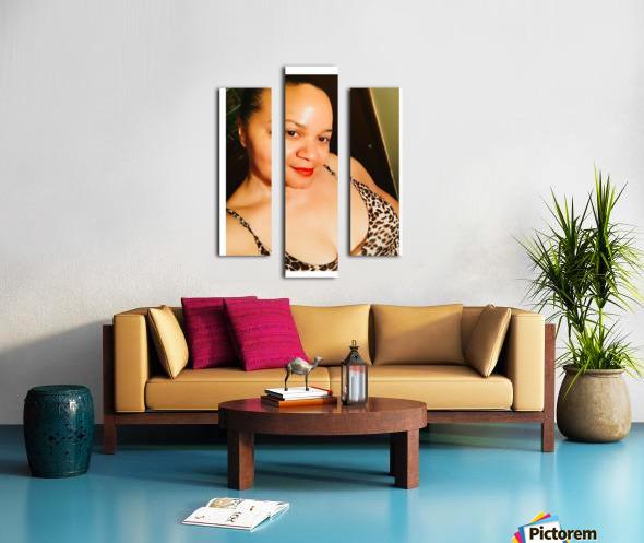 JustMe Canvas print