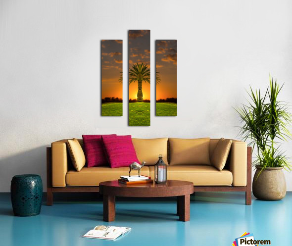 Phoenix Rising Canvas print