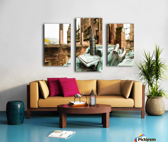 Coventry Bee Canvas print