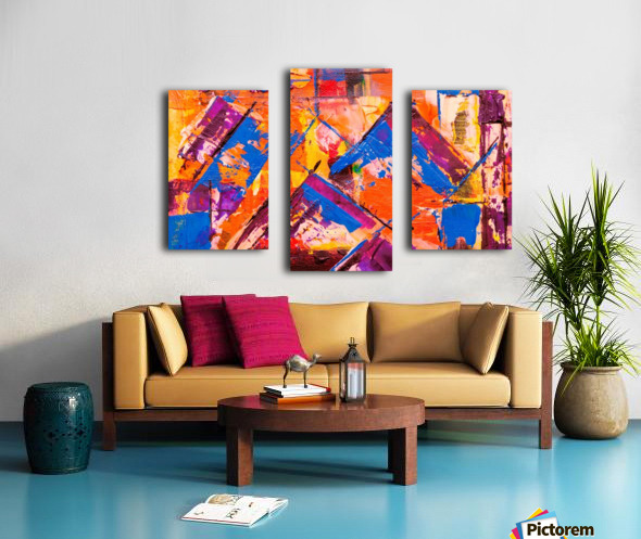 Modern art Canvas print