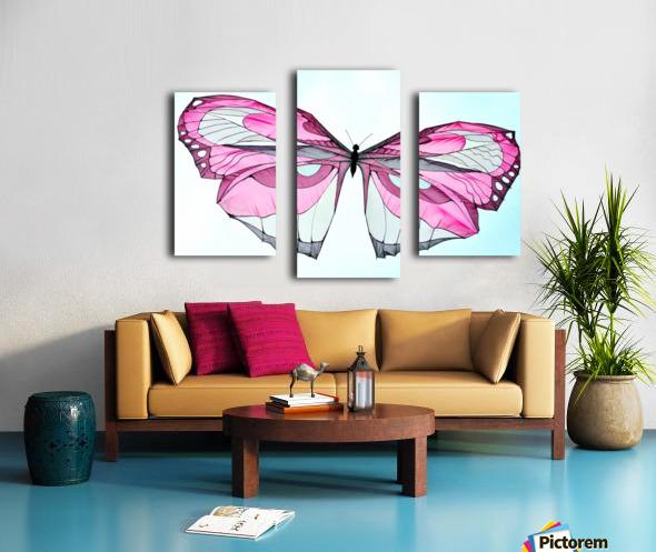 Papillon Canvas print