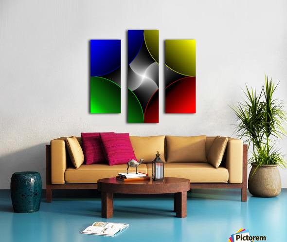 1-Colors Idea 2 Canvas print