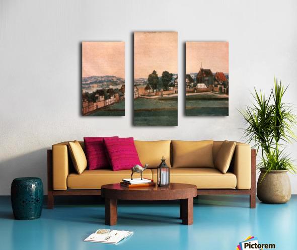 Erlauterung Johanniskirchhof Canvas print