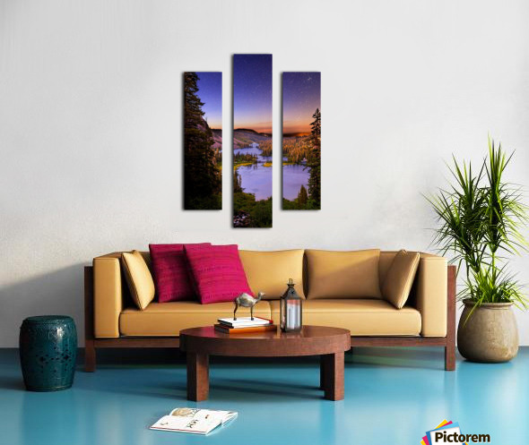 Twin Magic Canvas print