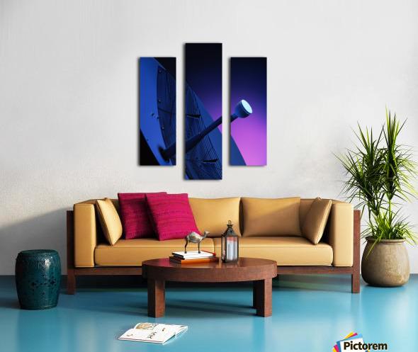 Blue Antenna Canvas print