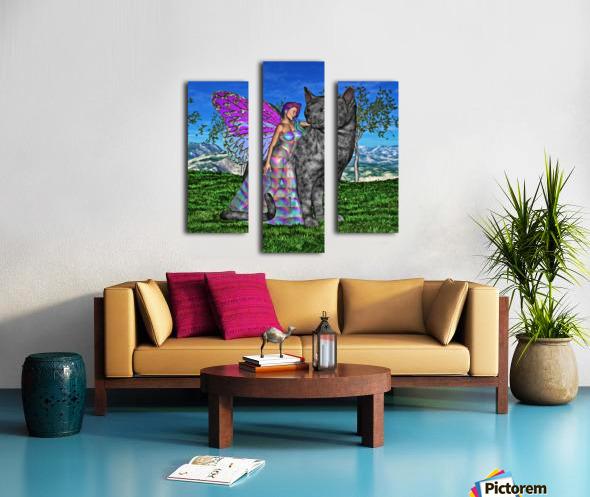 Fae Friends Canvas print