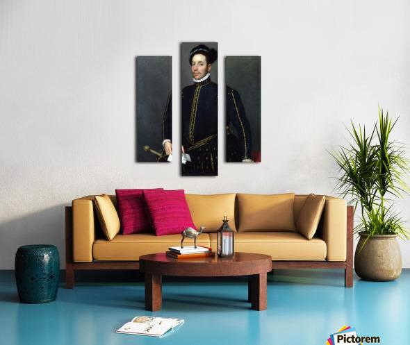 Portrait of a Gentleman ('Il Gentile Cavaliere') Canvas print