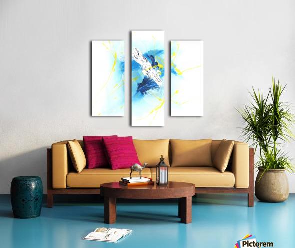 IMPULSION Canvas print