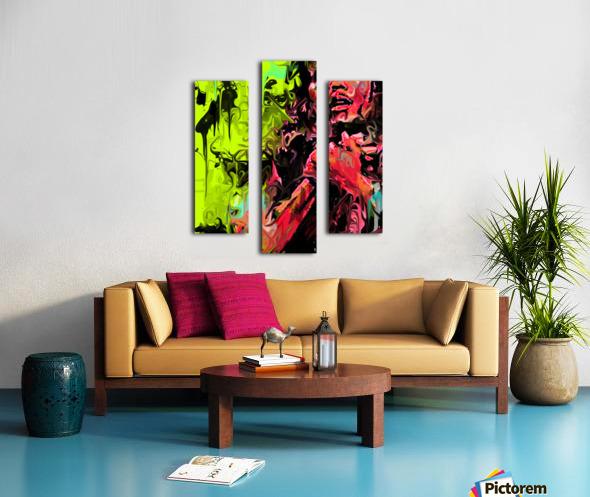 Bmarley3 Canvas print