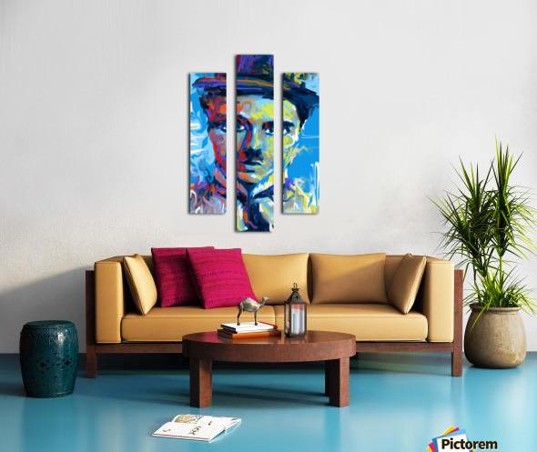 CharlieChaplin4 Canvas print
