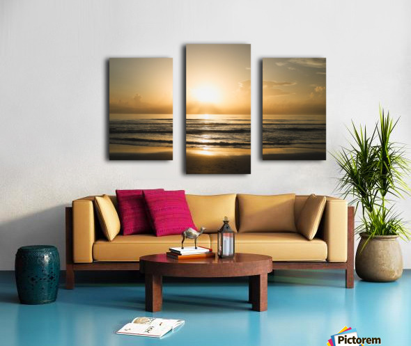 Golden Soul Canvas print