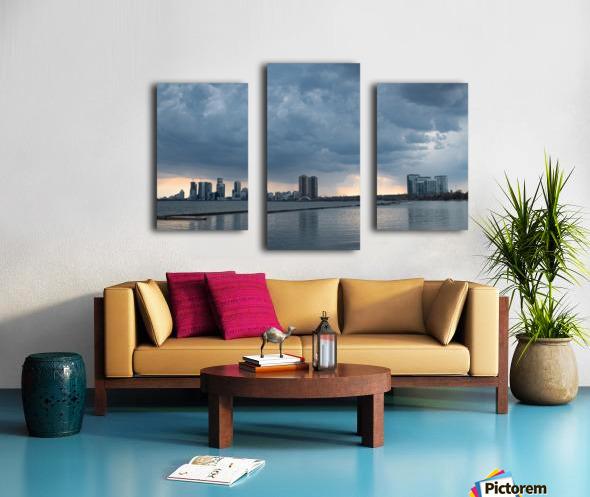 City at Ontario Lake Canvas print