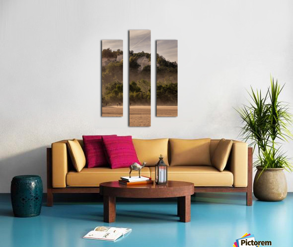 Hot day at the Bluffs Canvas print