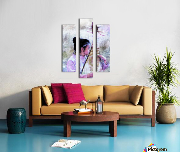 Chinese Musical Interlude Canvas print