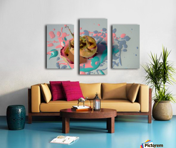 Painted Roses.04 Canvas print