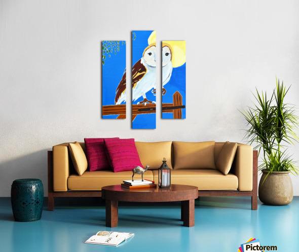 Davere H. Owl Canvas print