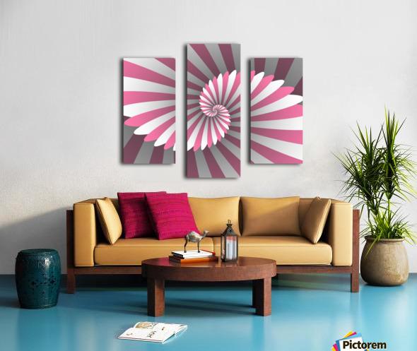 Swiggy Spiral Canvas print