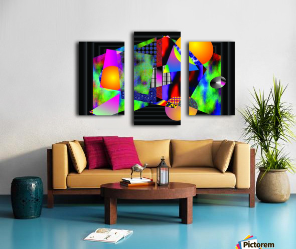 1-Intersections Canvas print
