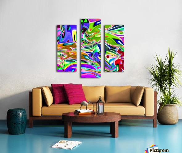 stream 1911011342 Canvas print