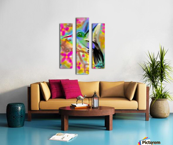 bird & tree.v2 Canvas print
