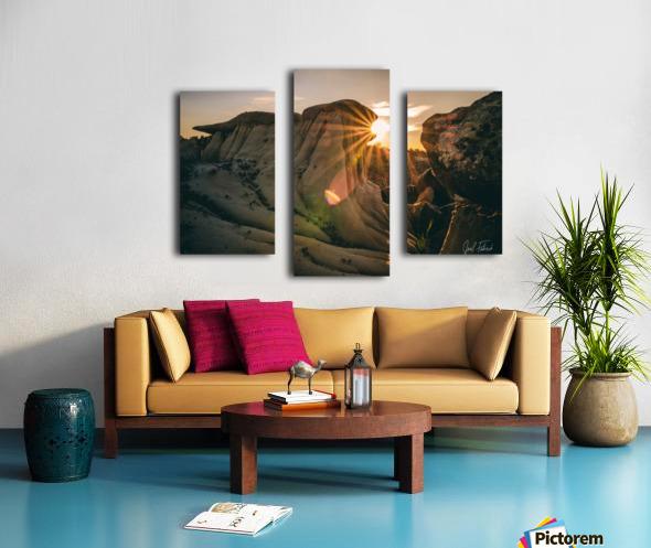 DPP Hoodoo Sunburst Canvas print