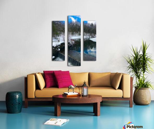 SimsburyFalls Canvas print
