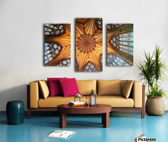 Religious Ceiling Canvas print