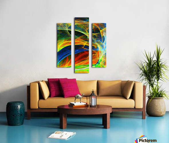 Abstract Composition 395 Canvas print