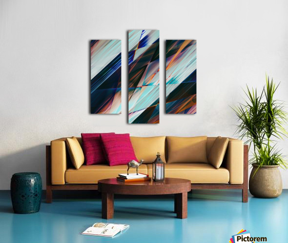 Abstract Composition 426 Canvas print