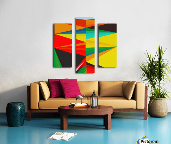 Abstract Composition 652 Canvas print