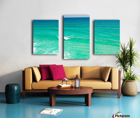 Clear Surf  Canvas print