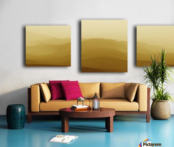 Mountainous Landscape 6 Canvas print
