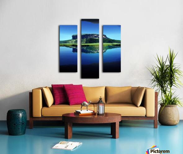 Distant Plateau Canvas print