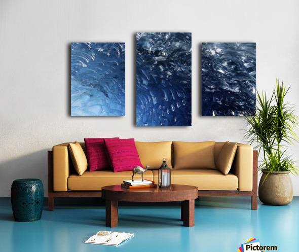 Glacier ICE formation  Canvas print