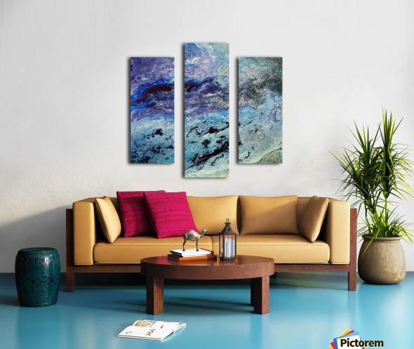 Color game Canvas print