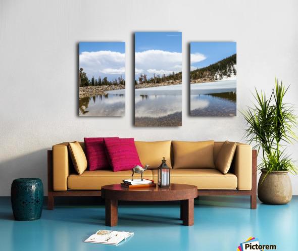 Colorado Glacier Canvas print